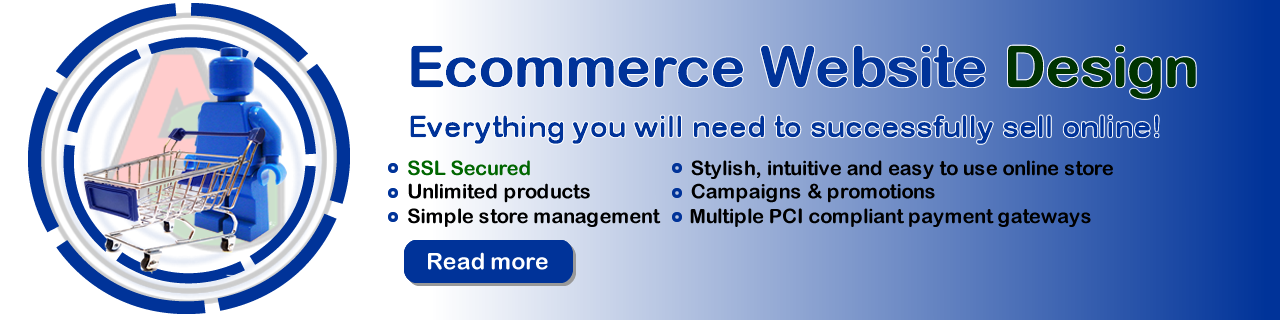 Ecommerce Design - Grannell Website Design Kent Southeast