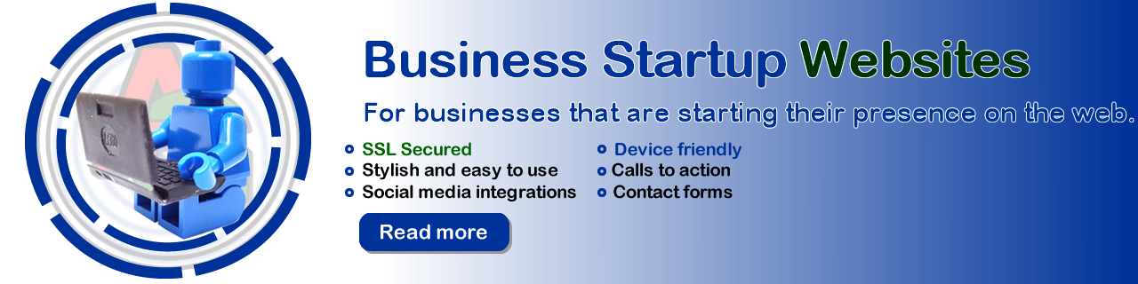Start up business website design - Grannell Website Design Ashford Kent