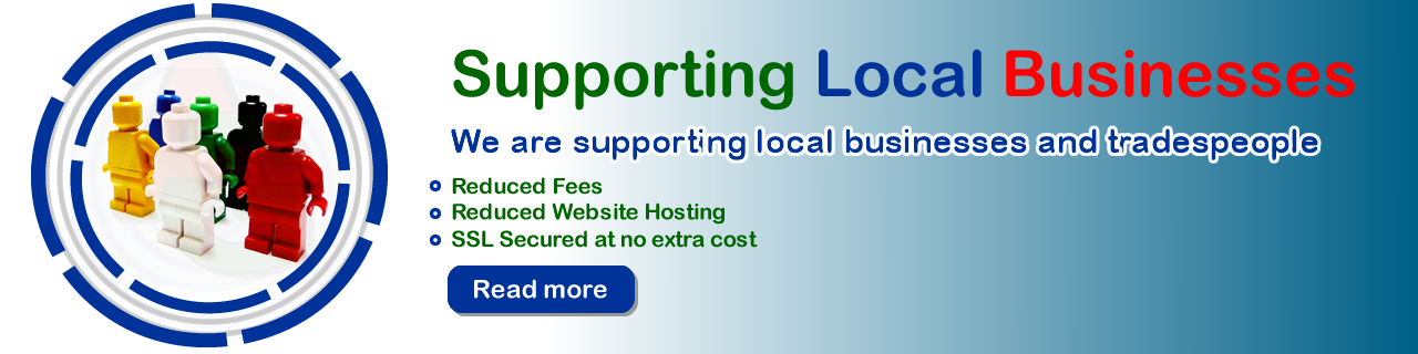 Supporting Local Businesses and Trademens - Grannell Website Design Kent Southeast