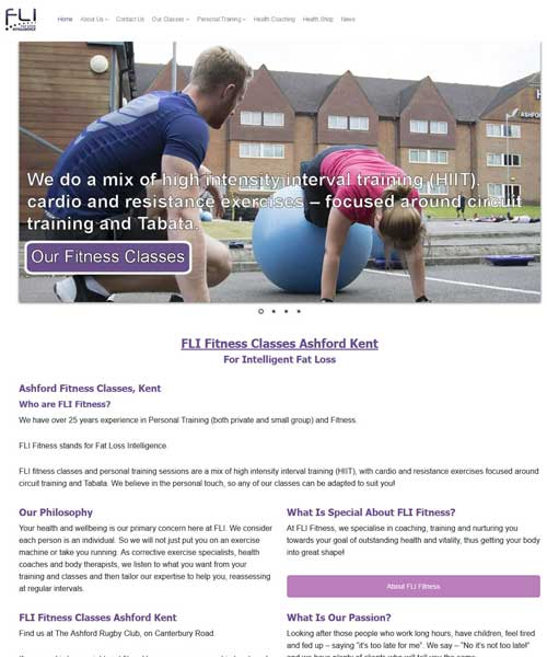 Fli Fitness - Fitness and Well being - Kent