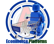 Lego man with shopping trolley - Ecommerce Website Design Kent