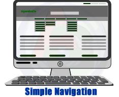 Simple navigation in WordPress